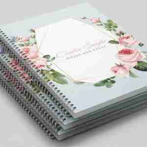 Personalised Printed Notebooks (3 pack)