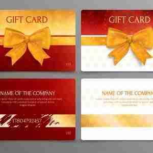 Gift Vouchers On getitprinted.com