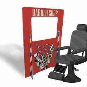 Hair Salon Screen Separation Panels & Chair Dividers