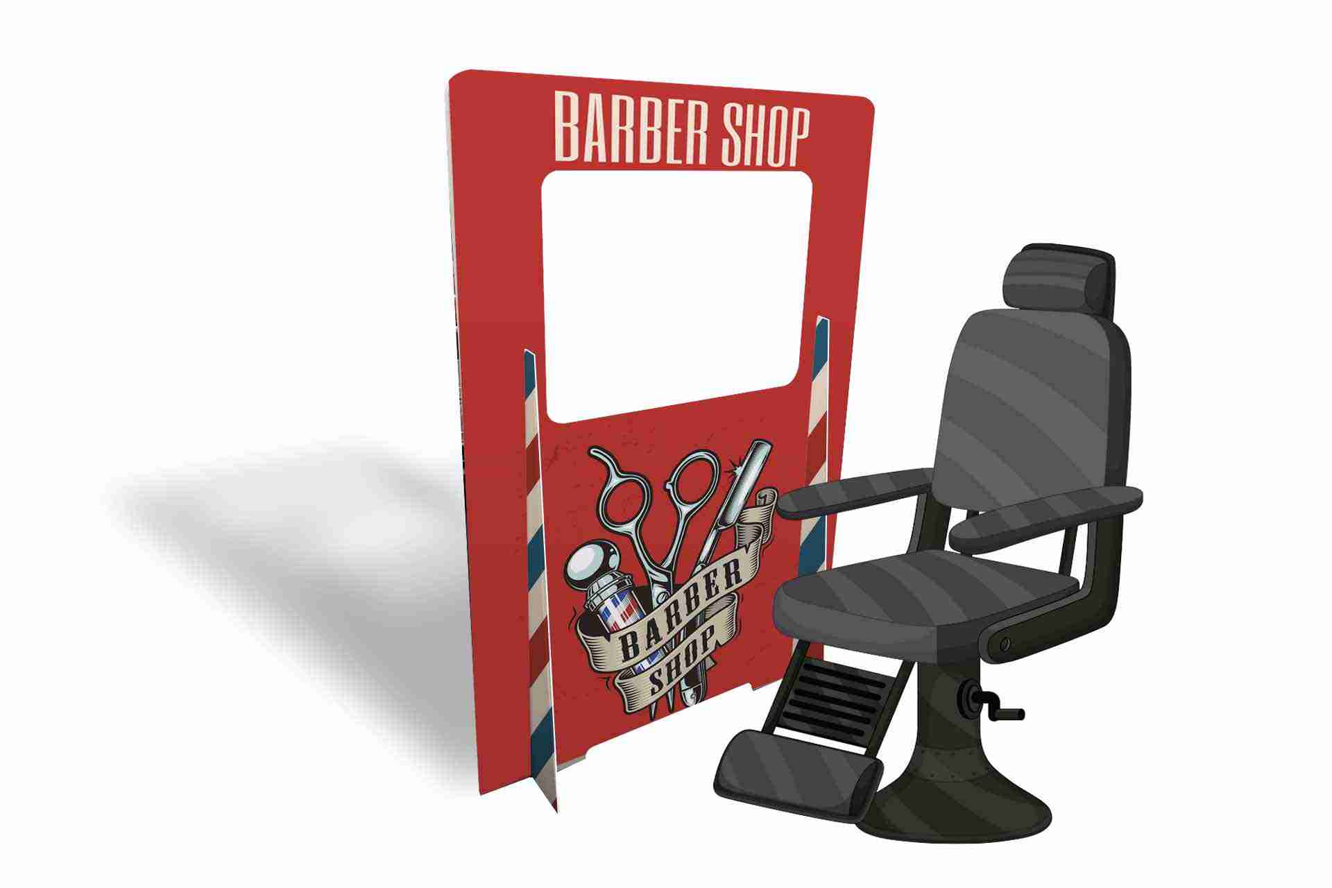 Barber-salon-screen-with-chair