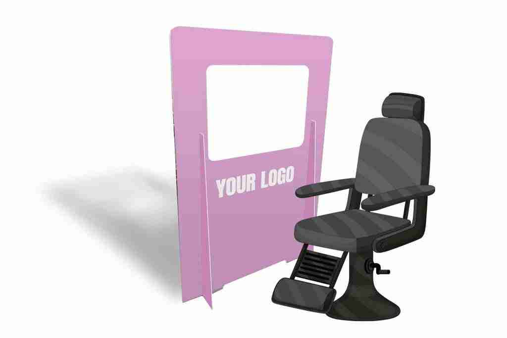 Hair Salon Safety Screens Protect, Salons: Safely Getting Back to Business In Style, getitprinted.com