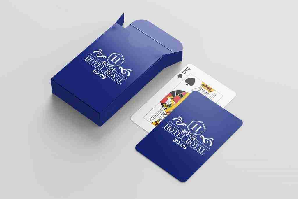 Personalised Playing Cards and Box, getitprinted.com