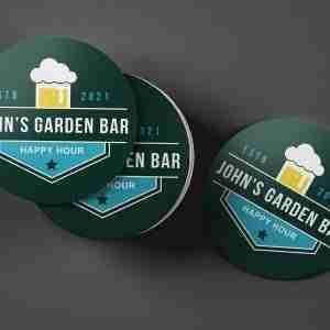 Home Bar Custom Beer Mats