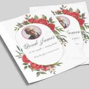 Funeral Order of Service On getitprinted.com