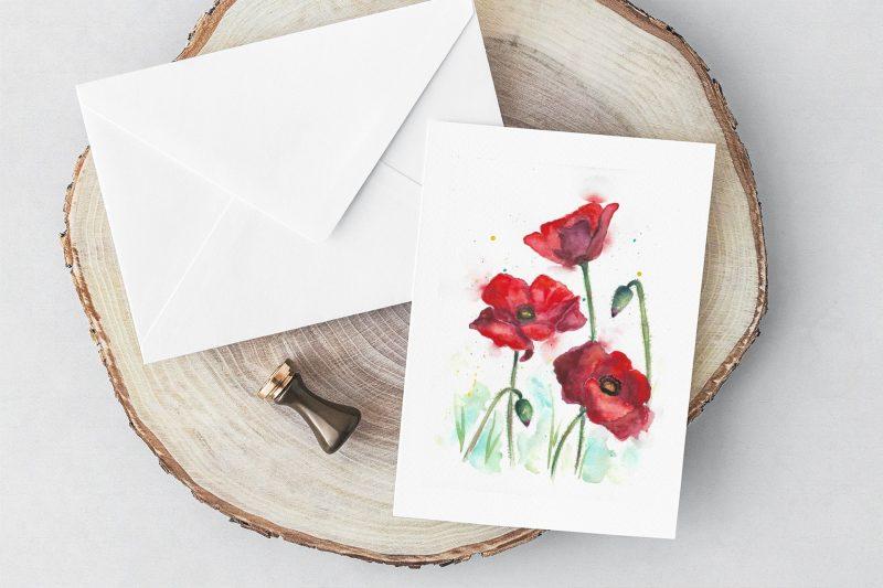 Katie Louise Greetings Card