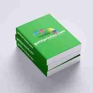 A4 Books Professionally Printed and Bound