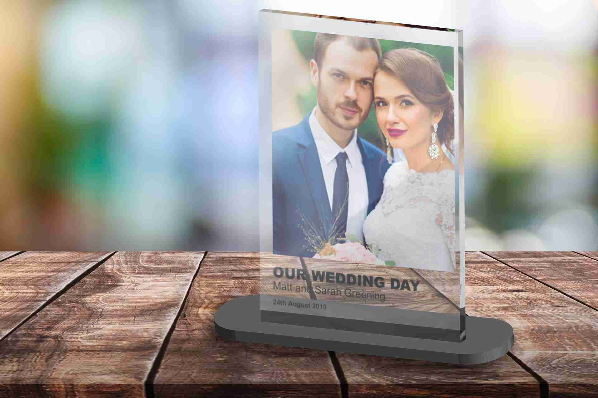 Wedding-Acrylic-Print-in-Stand