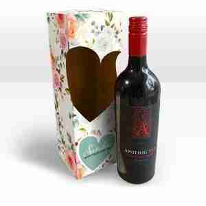 Personalised Champagne or Wine Bottle Box