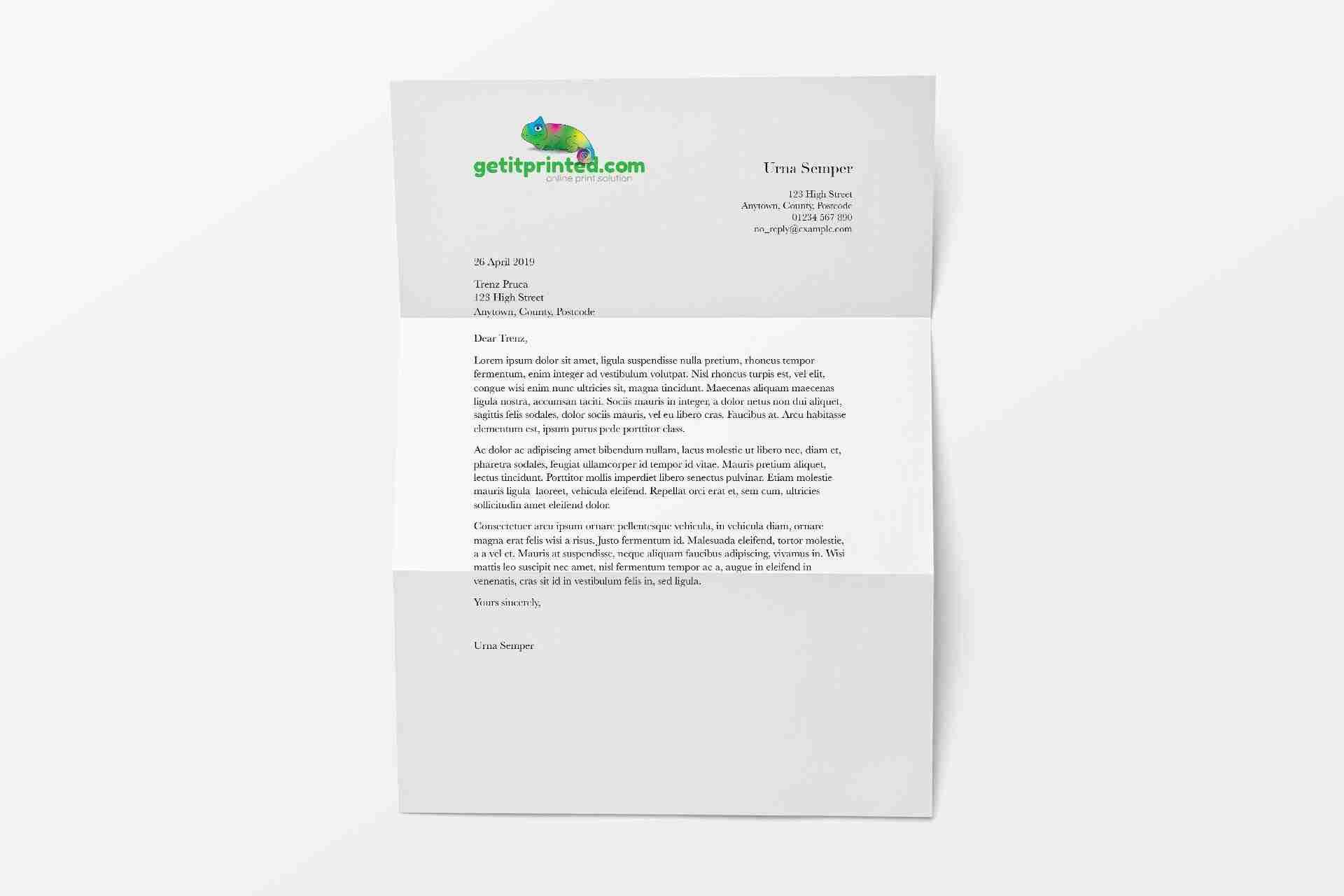 letterhead-A4-Printed