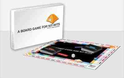 A Board Game for Nit-Wits