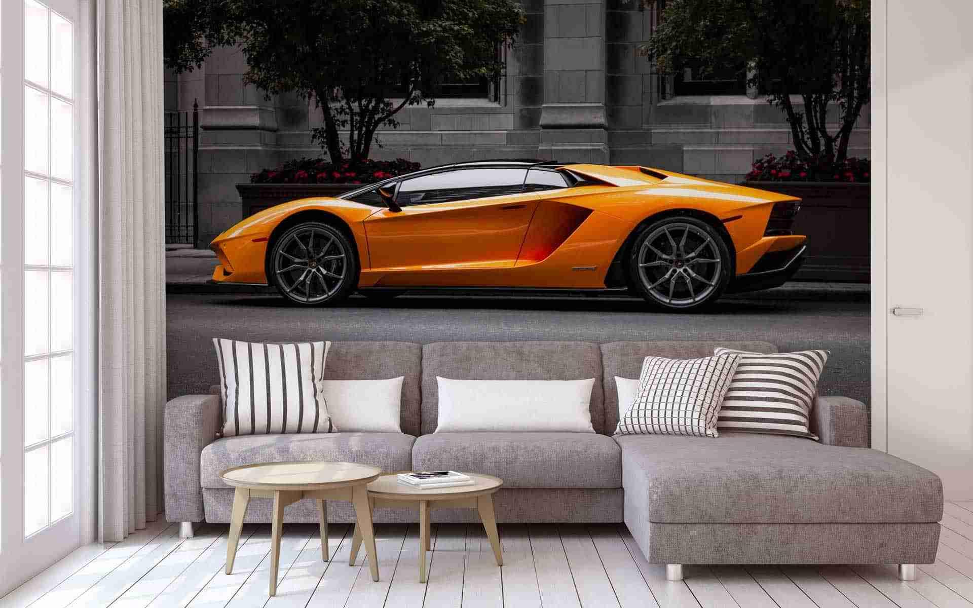 orange-sports-car