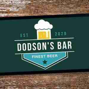 Home Bar Custom Beer Mats