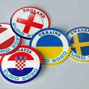 Limited Edition Euro 2020 Beer Mats