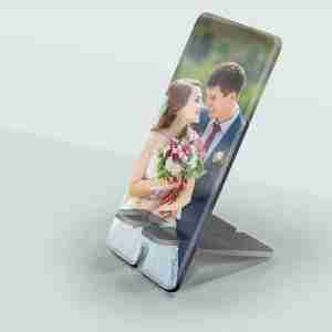 Stand Afone: Freestanding Personalised Photo Phone Stand